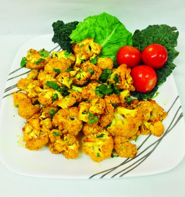Organic Roasted Cauliflower Recipe